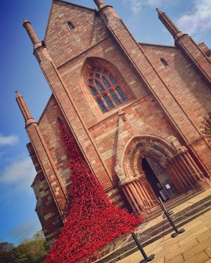 St Magnus Cathedral - Poppies
