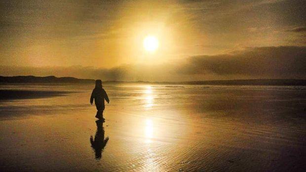 dunnet-beach-golden-hour-2