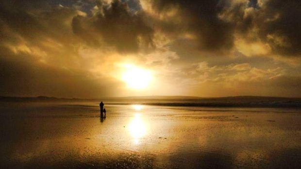 dunnet-beach-golden-hour