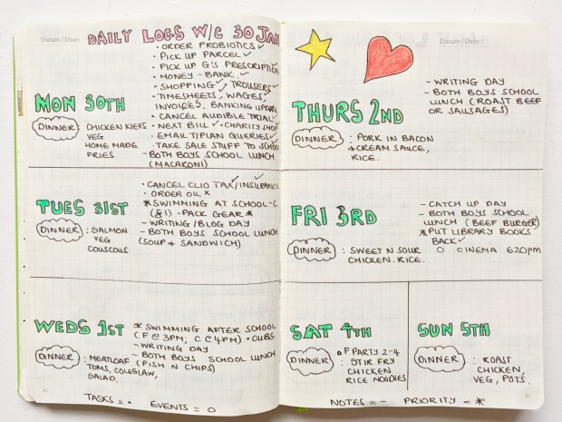 bullet-journal-logs-and-meal-planner