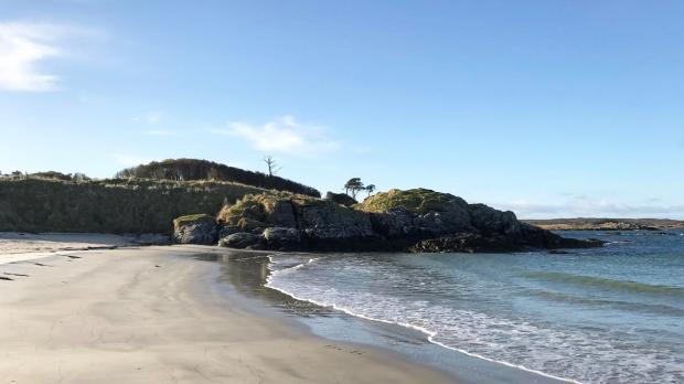 Beach Camusdarach