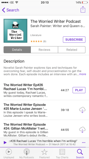 Worried Writer Podcast