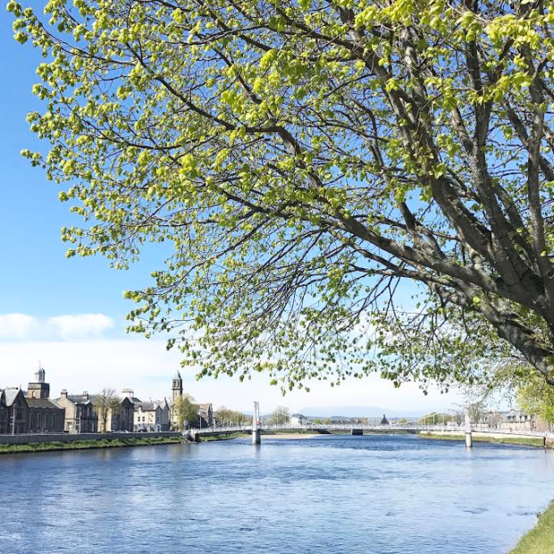 Inverness in Spring