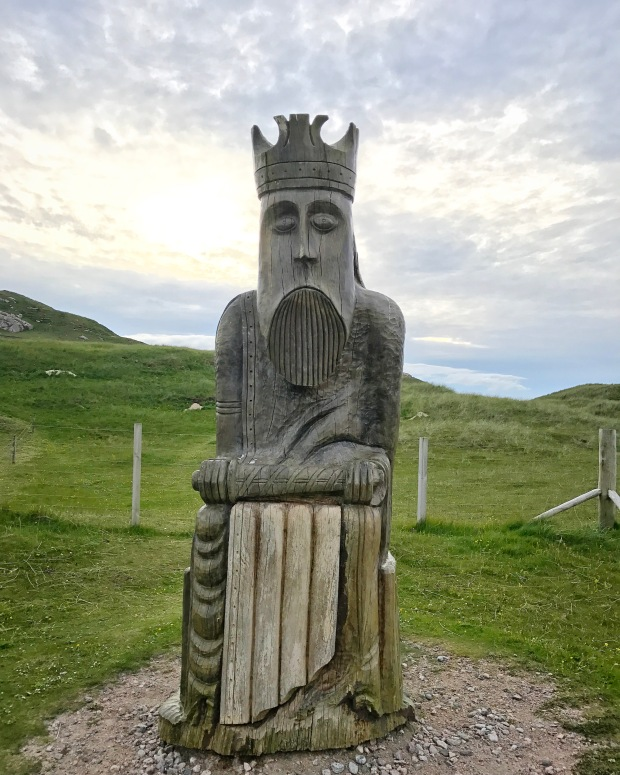 Lewis Chessmen Sculpture.JPG