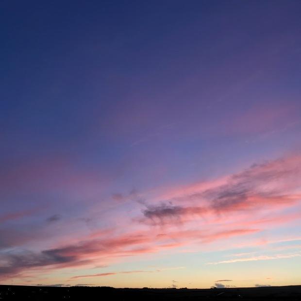 November Sunset Caithness