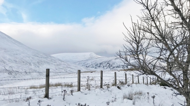 Snow in the Highlands