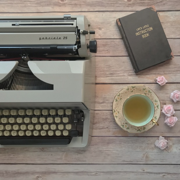 Typewriter and Tea