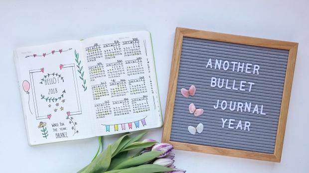 2018 Bullet Journal Ideas 3