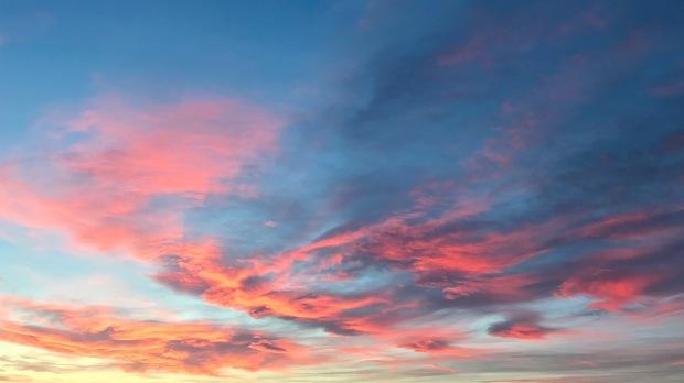 Caithness Sunset January