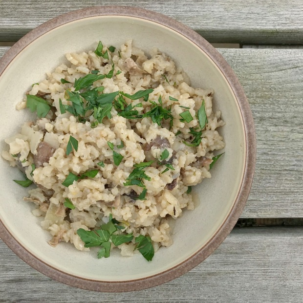 Easy Tasty Healthy Mushroom Risotto