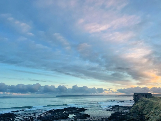 Pink and Blue Sunrise Caithness