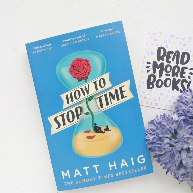 How to Stop Time Book