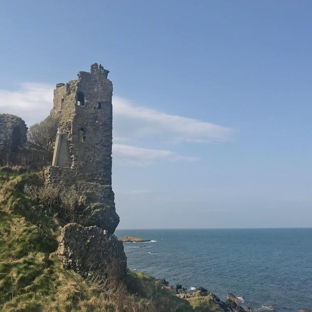 Dunure Castle Selkie Island Outlander