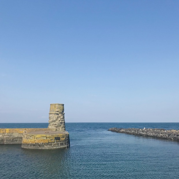 Dunure Harbour Outlander