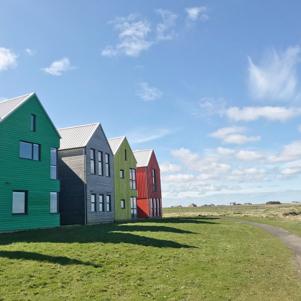 John O Groats Coloured Lodges.JPG