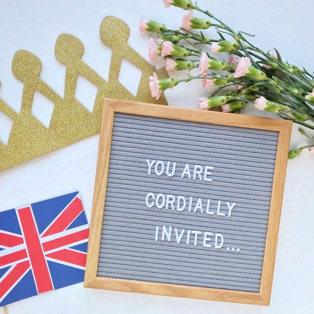 Ideas for Celebrating the Royal Wedding